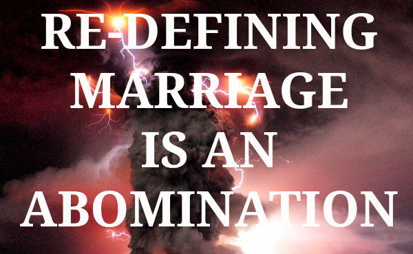Redefining Marriage is an ObamaNation Right Side News