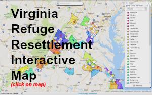 Virginia Refugee Resettlement Map 2016 300