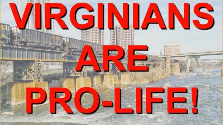 Virginians are Pro Life