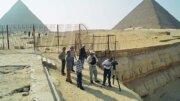Giza Plateau Filming