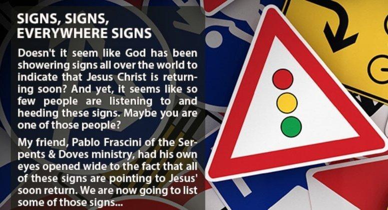 Last Days Signs